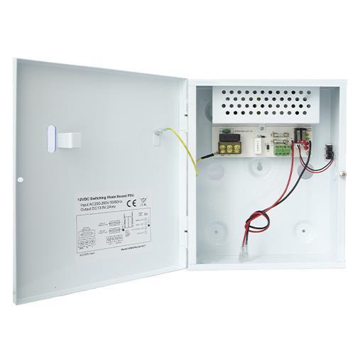 Intruder Psu 1a 12v Output 13.8v Battery