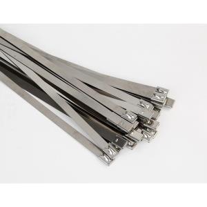 Fire Accy Ties 400 X 4.6 S/Steel 100pk