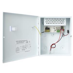 Intruder Psu 3a 12v Output 13.8v Battery
