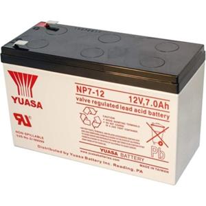 Yuasa NP7-12 Multipurpose Battery - 7000 mAh - Sealed Lead Acid (SLA) - 12 V DC - Battery Rechargeable
