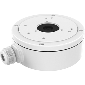 Hikvision DS-1280ZJ-S Mounting Box for Network Camera - 4.50 kg Load Capacity - White