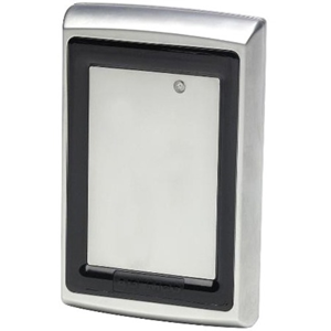 Honeywell OmniProx Card Reader Access Device - Silver - Door - Proximity - 101.60 mm Operating Range - Wiegand - 16 V DC - Surface Mount