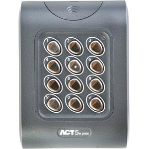 Vanderbilt ACT5-EM Card Reader/Keypad Access Device - Indoor, Outdoor, Door - Proximity, Key Code - 128 User(s) - 1 Door(s) - Surface Mount